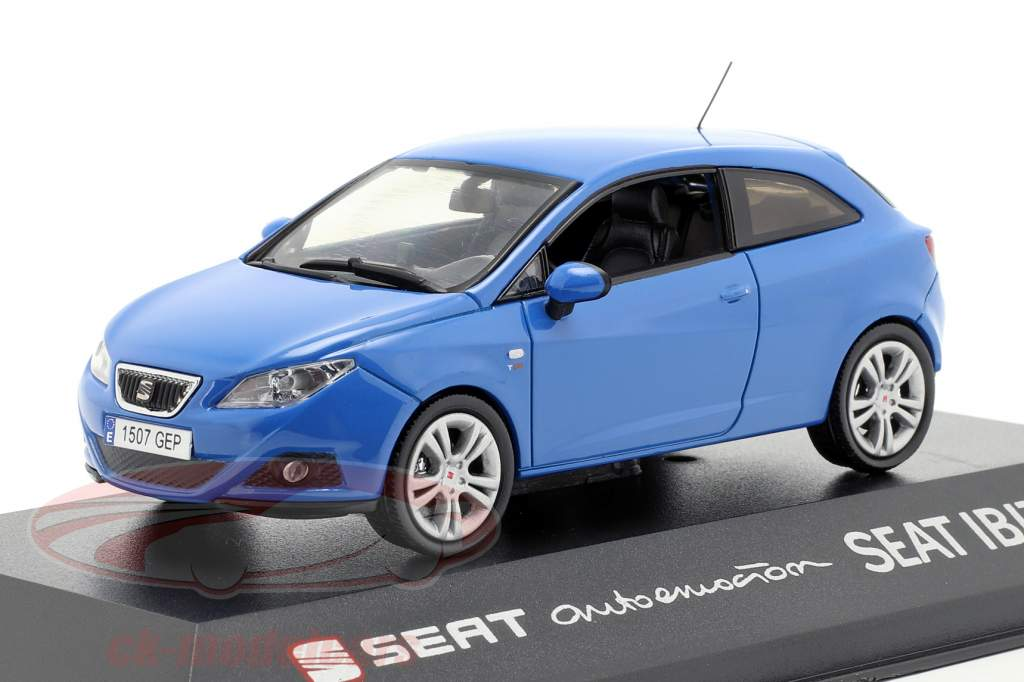 Seat Ibiza SC blue 1:43 Seat