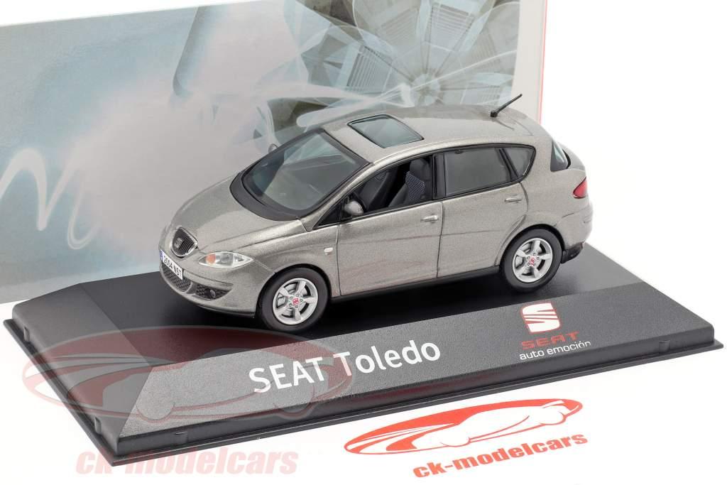 Seat Toledo III sombra gris metálico 1:43 Seat