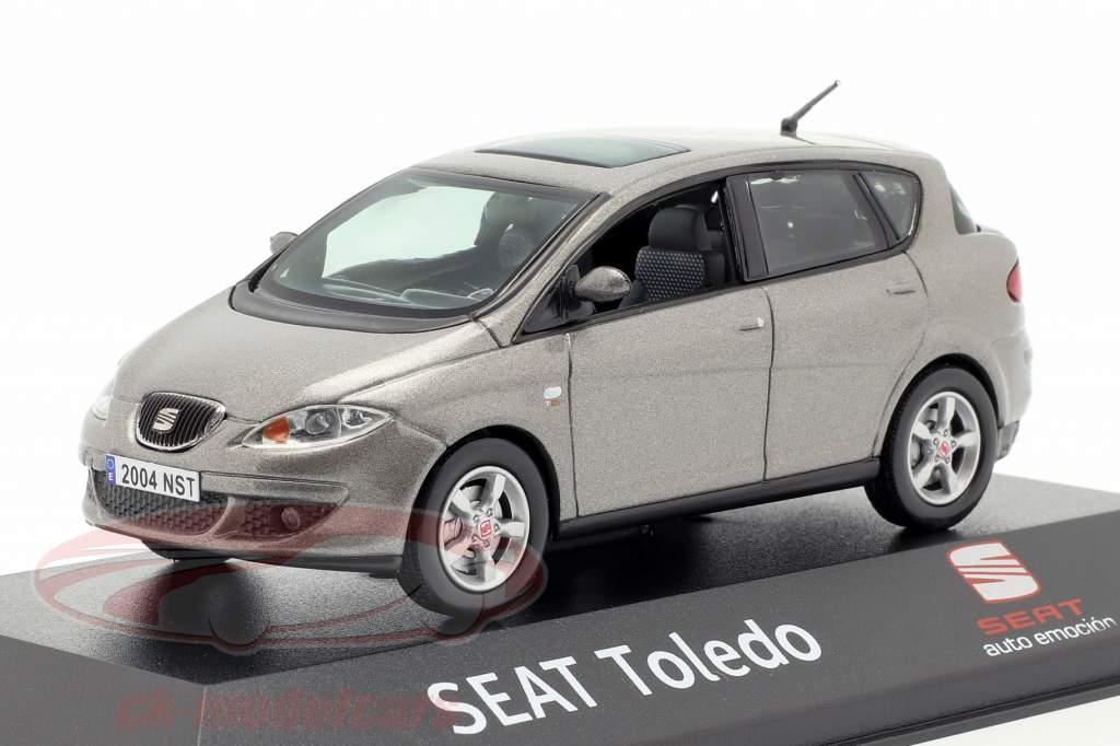 Seat Toledo III sombra grijs metalen 1:43 Seat