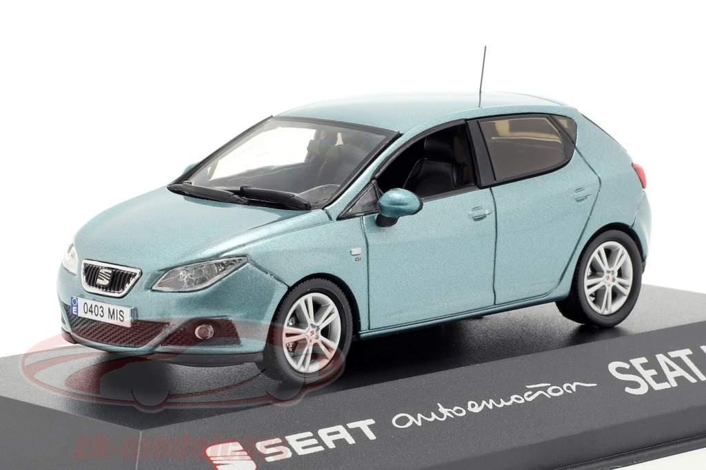 Seat Ibiza IV bleu clair 1:43 Seat
