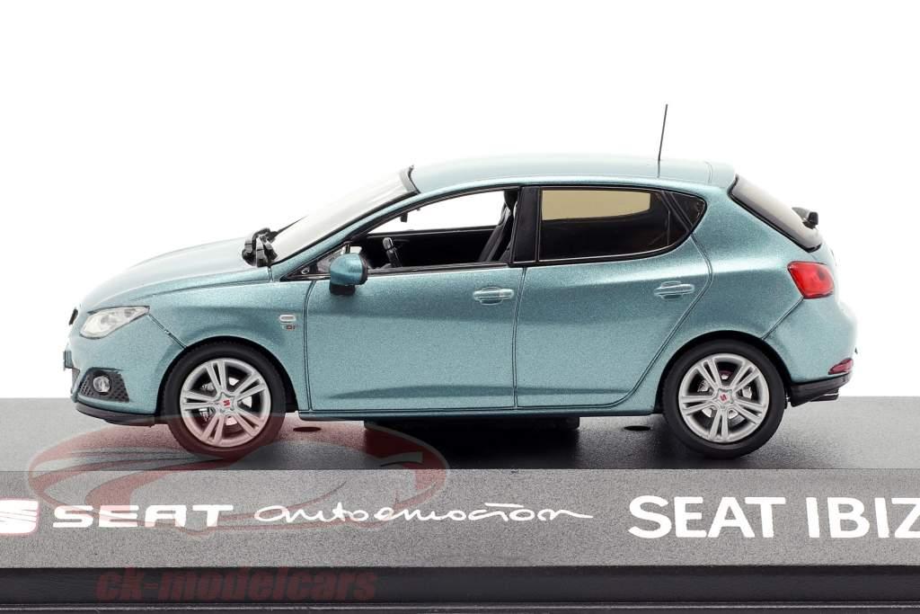 Seat Ibiza IV lyseblå 1:43 Seat