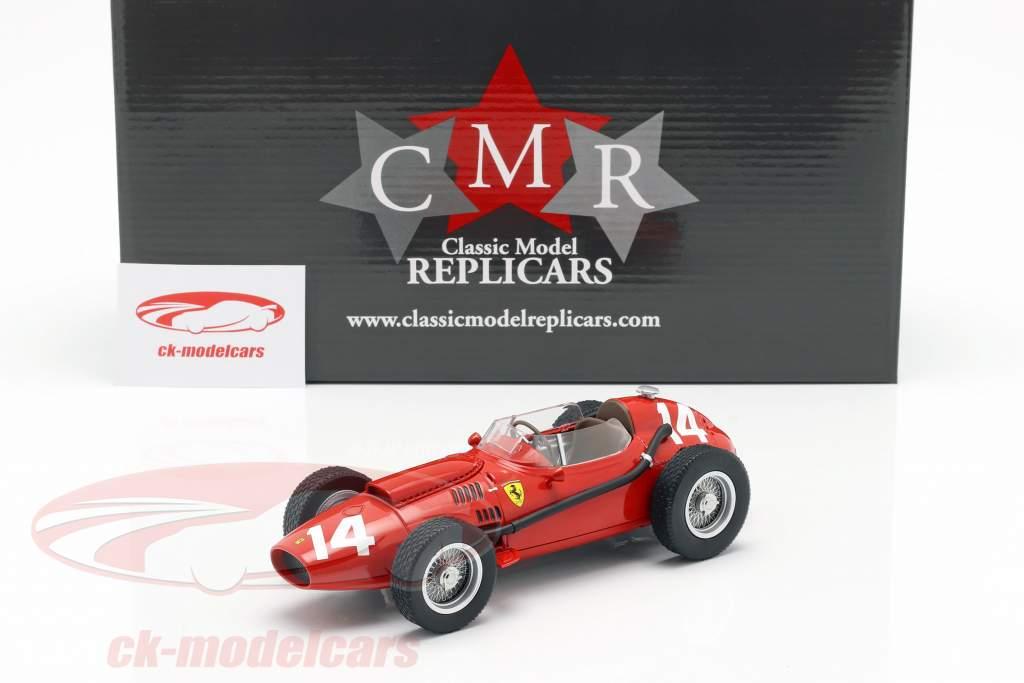 M. Hawthorn Ferrari Dino 246 #14 Itália GP campeão do mundo F1 1958 1:18 CMR
