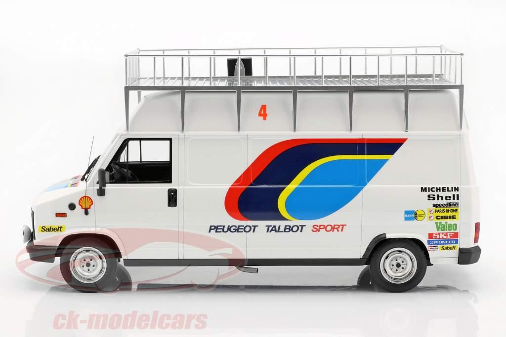 3-Car Set Vinder Rallye Monte Carlo 1985 Peugeot Talbot Sport 1:18 OttOmobile