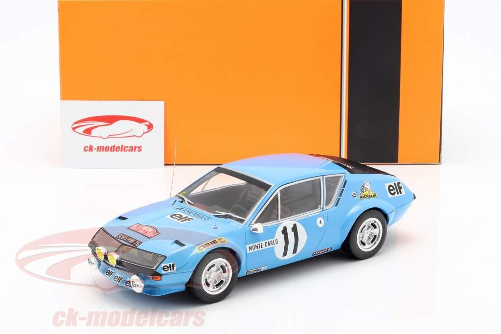 Renault Alpine A310 #11 Rallye Monte Carlo 1975 Warmbold, Davenport 1:18 Ixo
