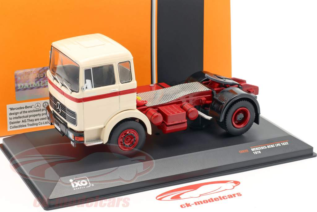 Mercedes-Benz LPS 1632 Truck year 1970 beige / red 1:43 Ixo