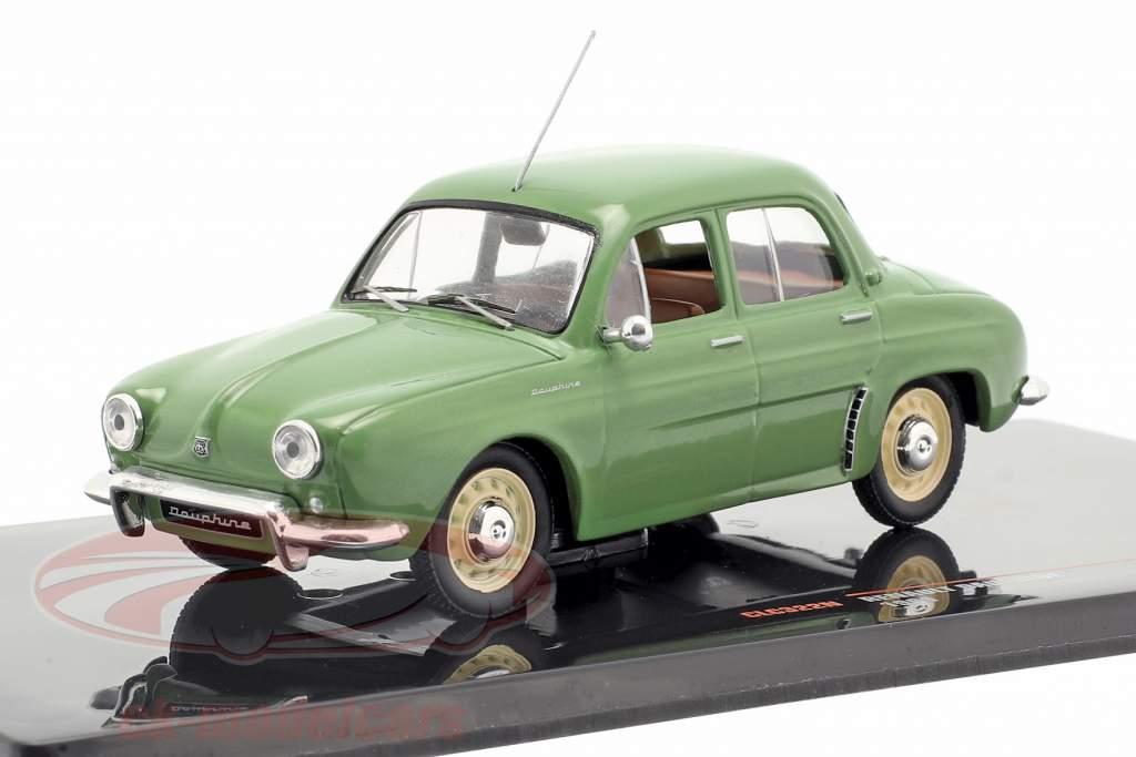 Renault Dauphine Bouwjaar 1961 groen 1:43 Ixo
