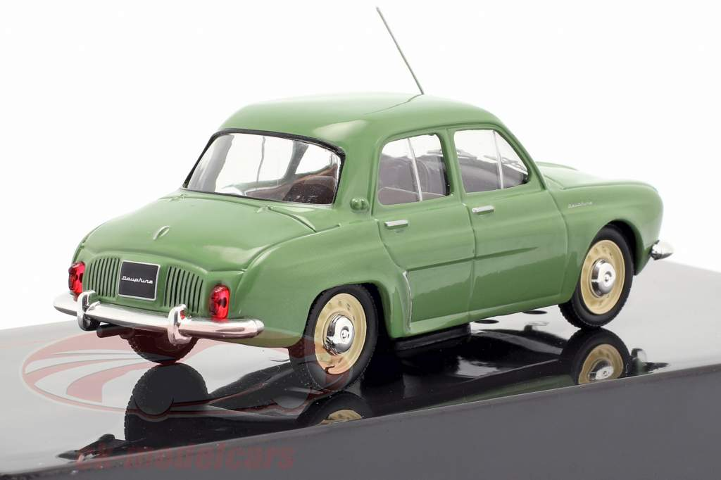 Renault Dauphine Opførselsår 1961 grøn 1:43 Ixo