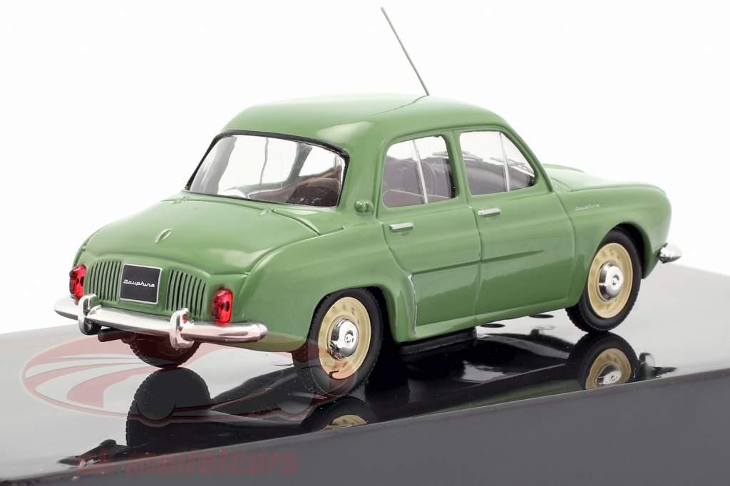Renault Dauphine year 1961 green 1:43 Ixo