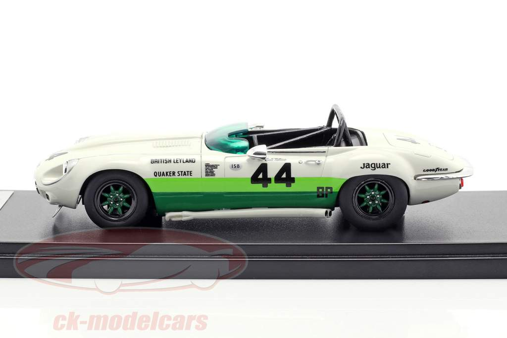 Jaguar E-Type V12 #44 Bob Tullius 1974 1:43 Matrix