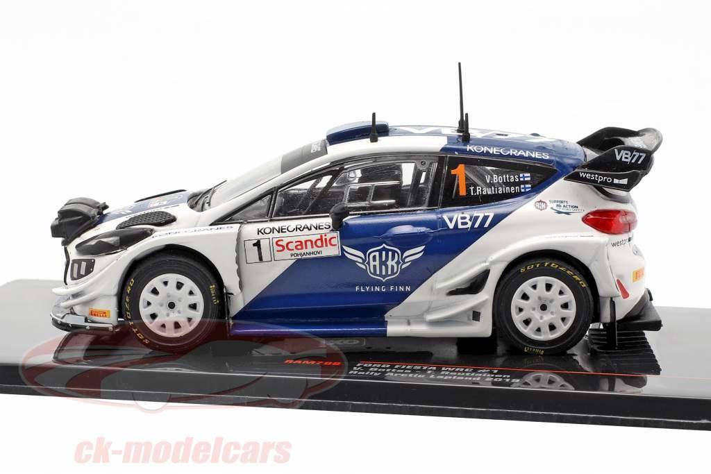 Ford Fiesta WRC #1 5 Ártico Lapland Rallye 2019 Bottas, Rautiainen 1:43 Ixo