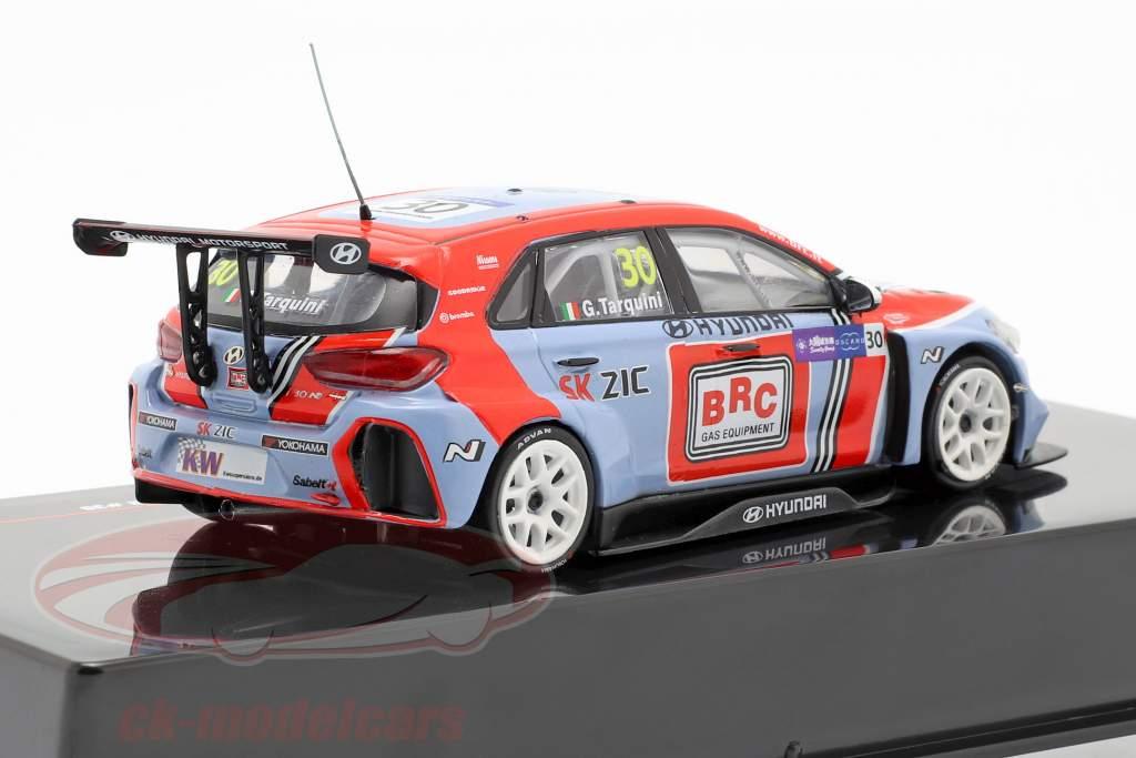 Hyundai i30 N TCR #30 WTCR Champion 2018 Gabriele Tarquini 1:43 Ixo