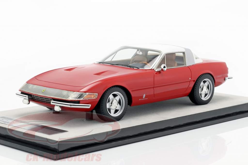 Ferrari 365 GTB/4 Daytona Coupe Speciale 1969 corsa vermelho 1:18 Tecnomodel