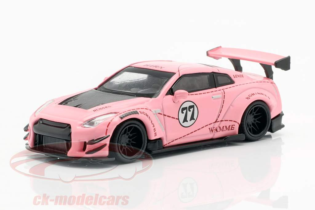 LB-Works Nissan G-TR (R35) Typ 2 LHD Pink Pig 1:64 TrueScale