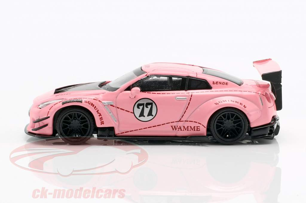 LB-Works Nissan G-TR (R35) tipo 2 LHD Pink Pig 1:64 TrueScale