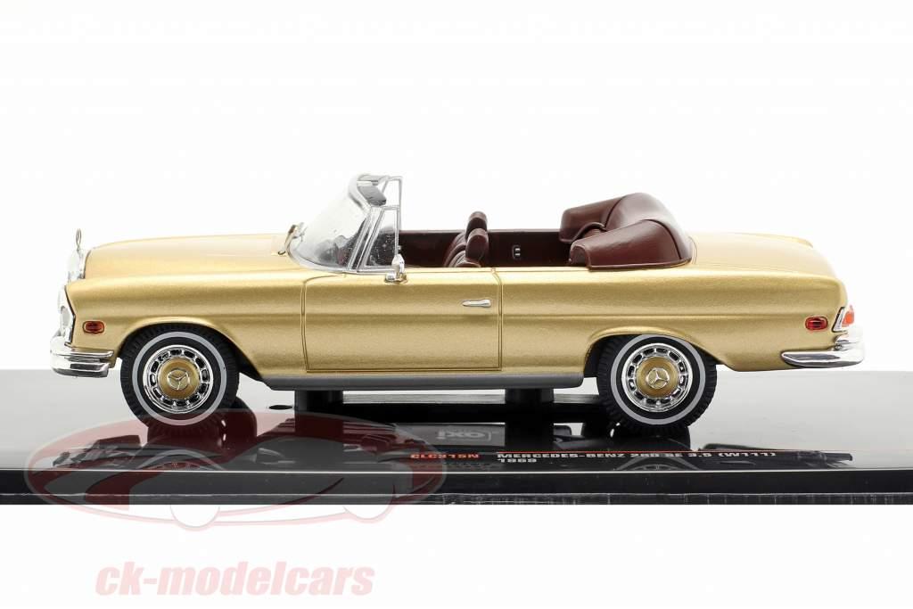 Mercedes-Benz 280 SE 3.5 (W111) year 1969 gold 1:43 Ixo