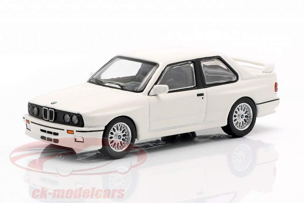 BMW M3 (E30) LHD alpine hvid 1:64 TrueScale