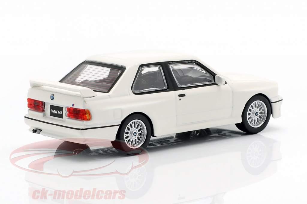 BMW M3 (E30) LHD alpino blanco 1:64 TrueScale