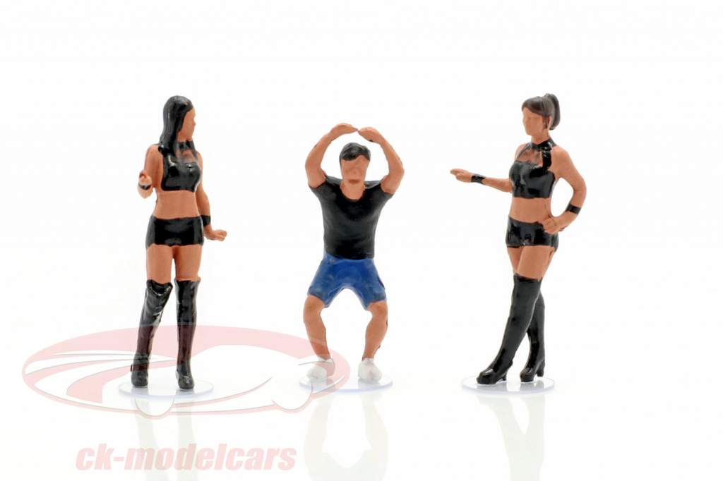 LB-Works Mr. Kato & Show Girls Figuren-Set 1:64 TrueScale
