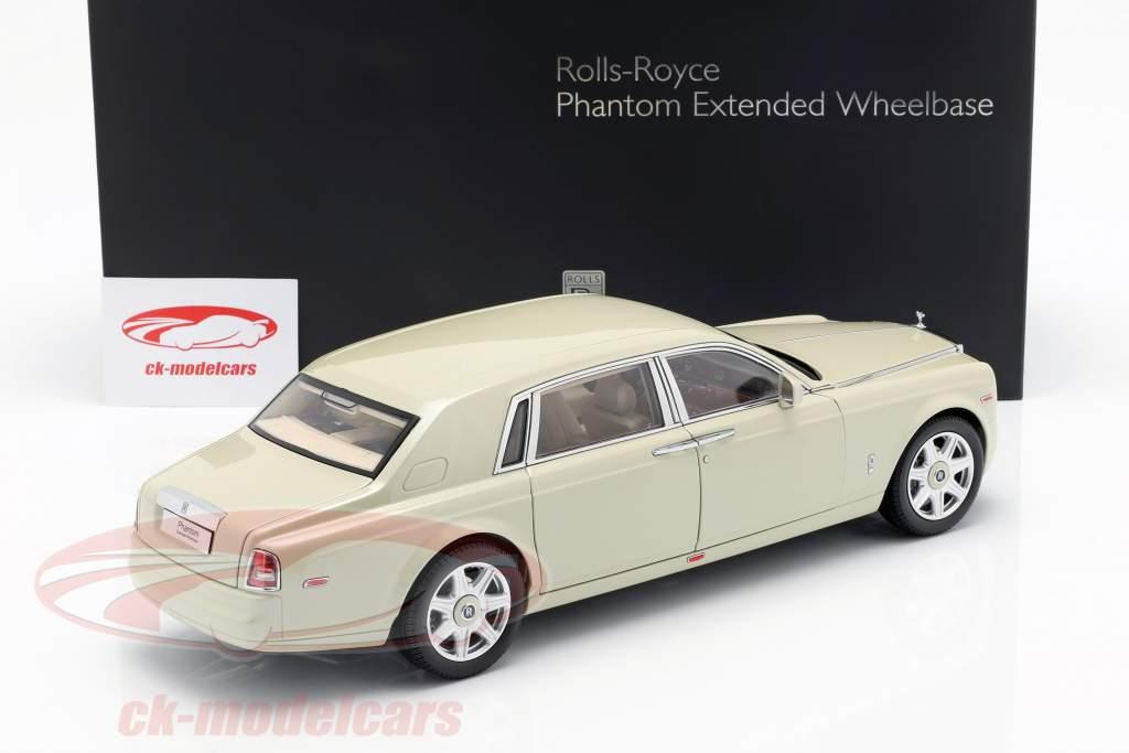 Rolls Royce Phantom EWB anno di costruzione 2012 carrera bianco 1:18 Kyosho