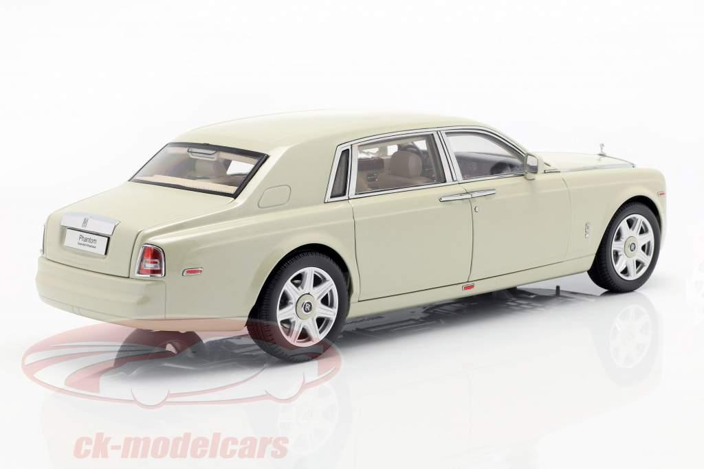 Rolls Royce Phantom EWB Opførselsår 2012 carrera hvid 1:18 Kyosho