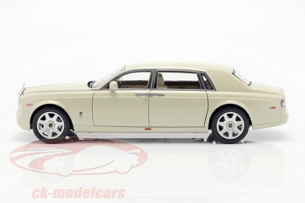 Rolls Royce Phantom EWB Bouwjaar 2012 carrera wit 1:18 Kyosho