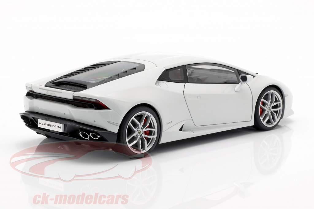 Lamborghini Huracan LP 610-4 Ano 2014 branco 1:18 AUTOart