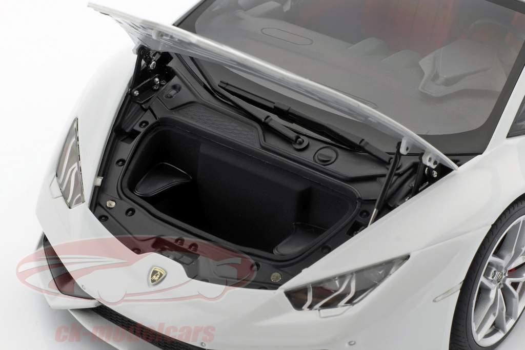 Lamborghini Huracan LP 610-4 Jaar 2014 wit 1:18 AUTOart