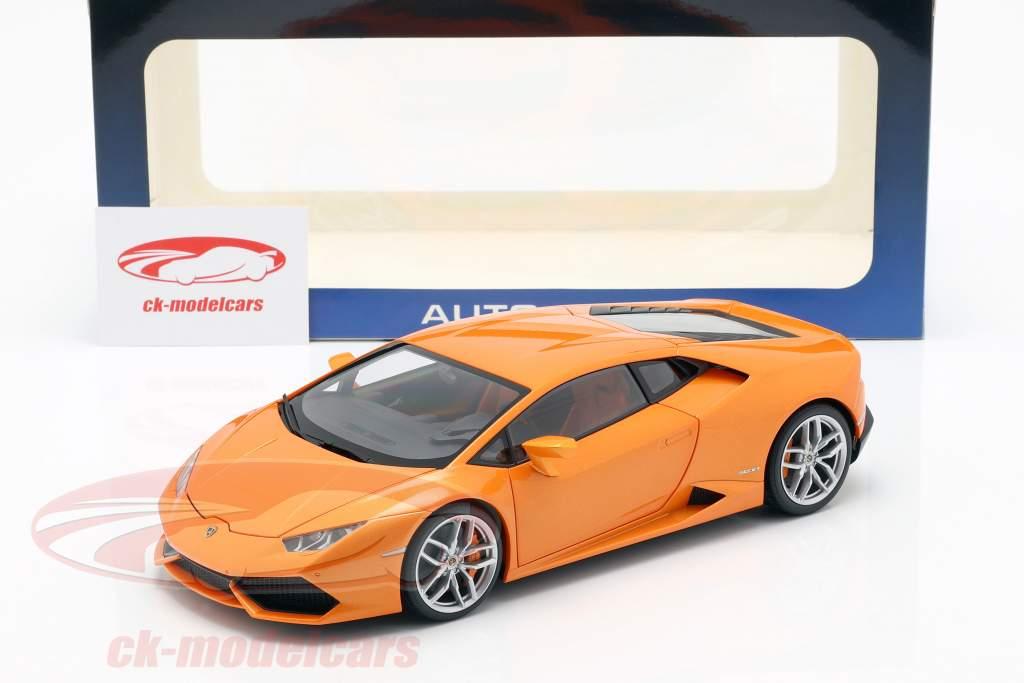 Lamborghini Huracan LP 610-4 Año 2014 naranja 1:18 AUTOart
