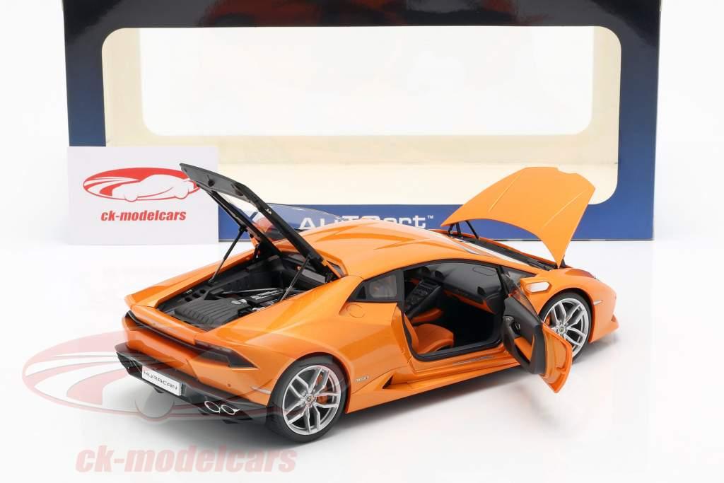Lamborghini Huracan LP 610-4 Anno 2014 arancione 1:18 AUTOart