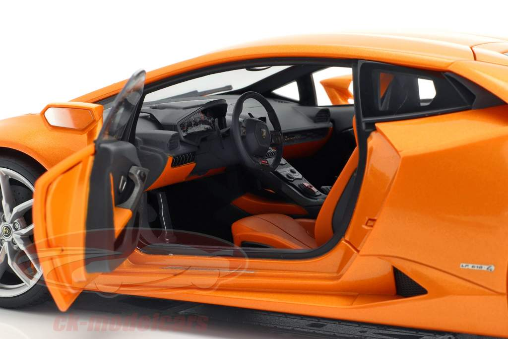 Lamborghini Huracan LP 610-4 Year 2014 orange 1:18 AUTOart