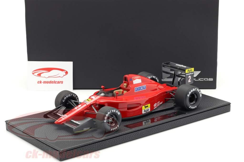 Nigel Mansell Ferrari 641/2 #2 fórmula 1 1990 1:18 GP Replicas
