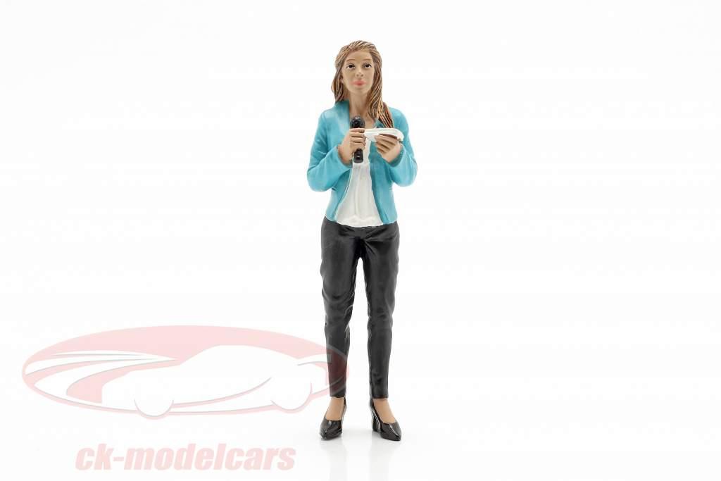reportero figura 1:18 American Diorama