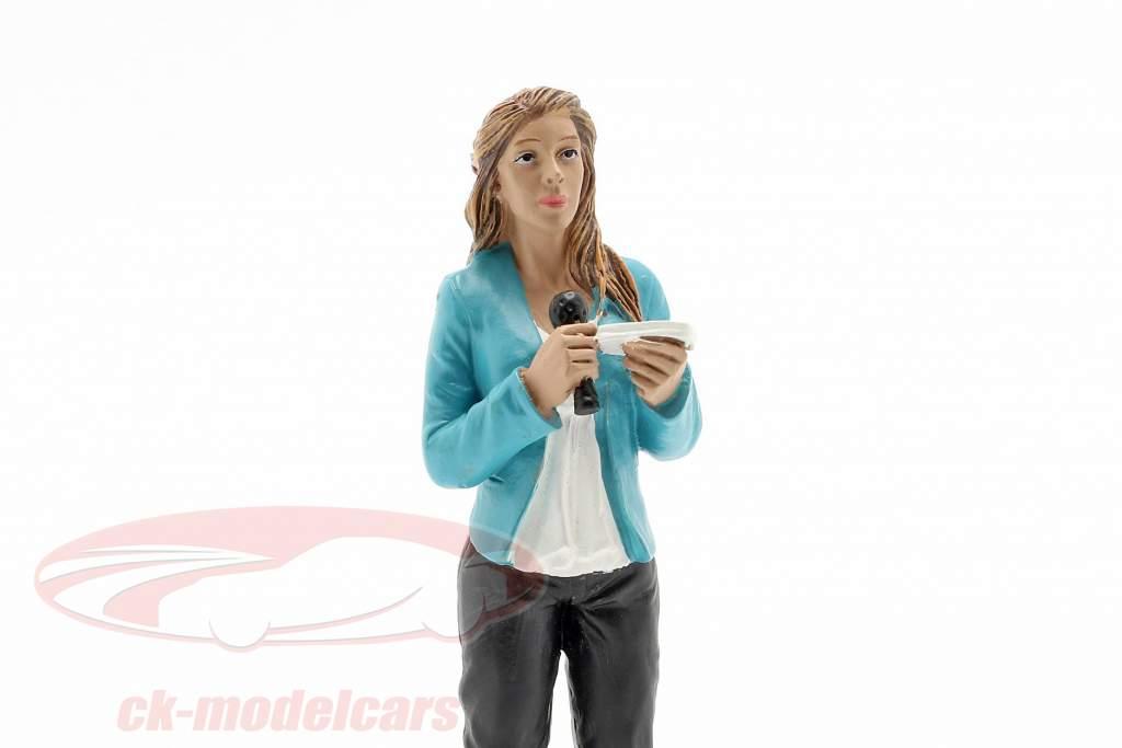 verslaggever figuur 1:18 American Diorama