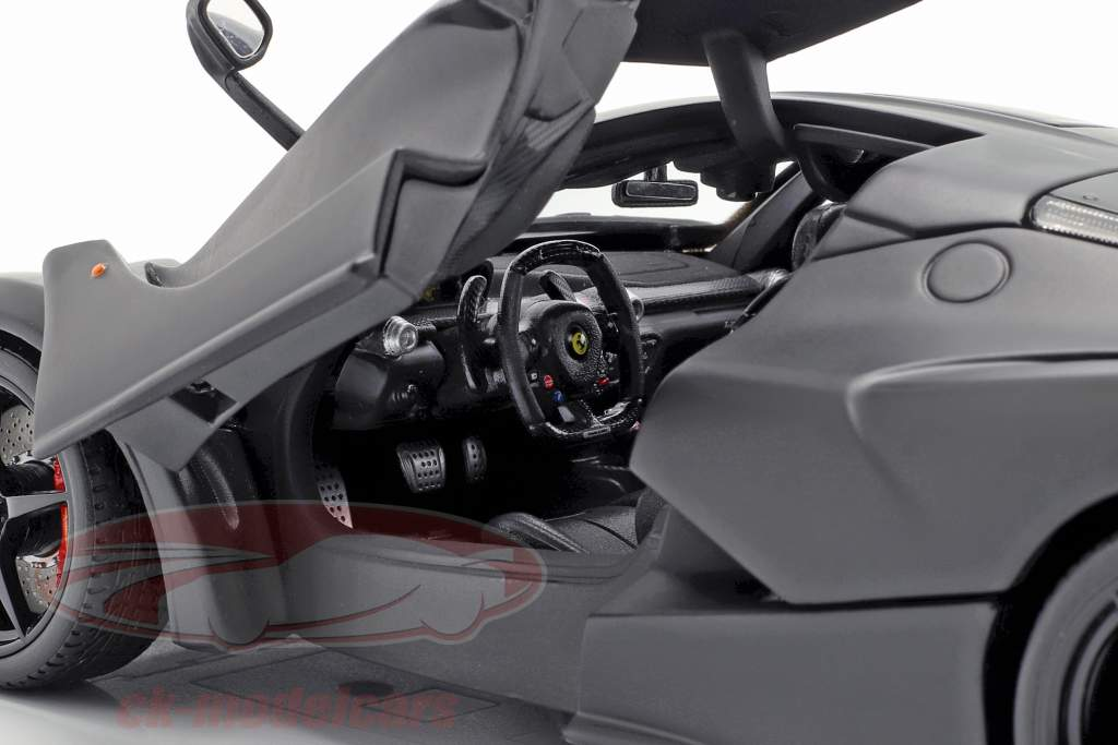 Ferrari LaFerrari Anno 2013 Nero opaco 1:18 Bburago Signature