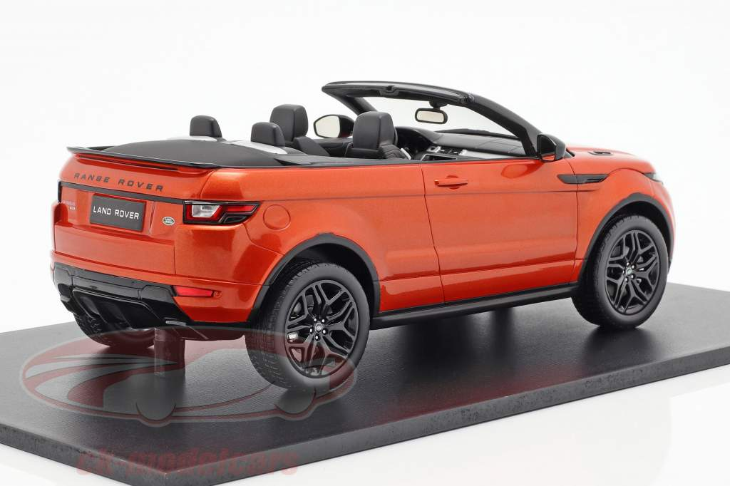 Land Rover Range Rover Evoque Convertible phoenix orange 1:18 TrueScale