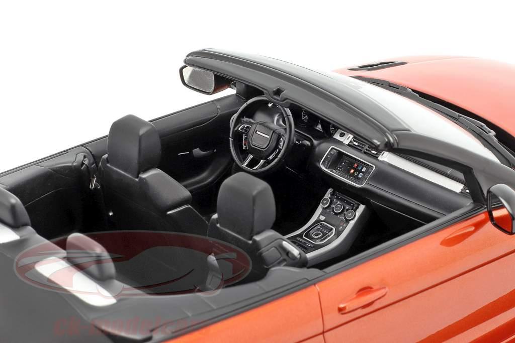 Land Rover Range Rover Evoque Convertible phoenix orange 1:18 TrueScale
