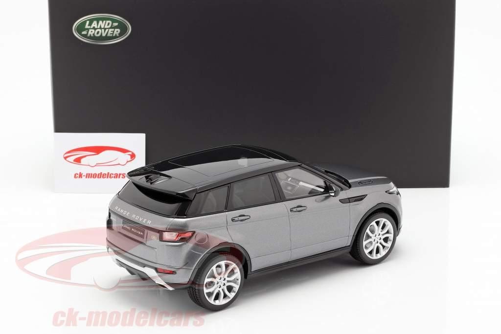 Land Rover Range Rover Evoque corris cinza 1:18 Kyosho