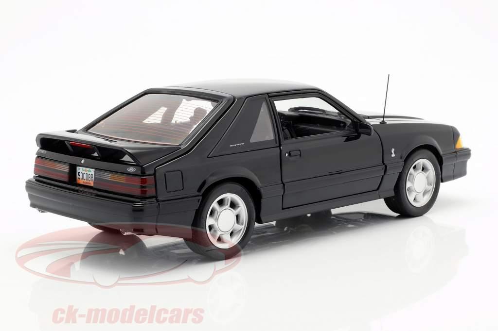 Ford Mustang Cobra Opførselsår 1993 sort 1:18 GMP
