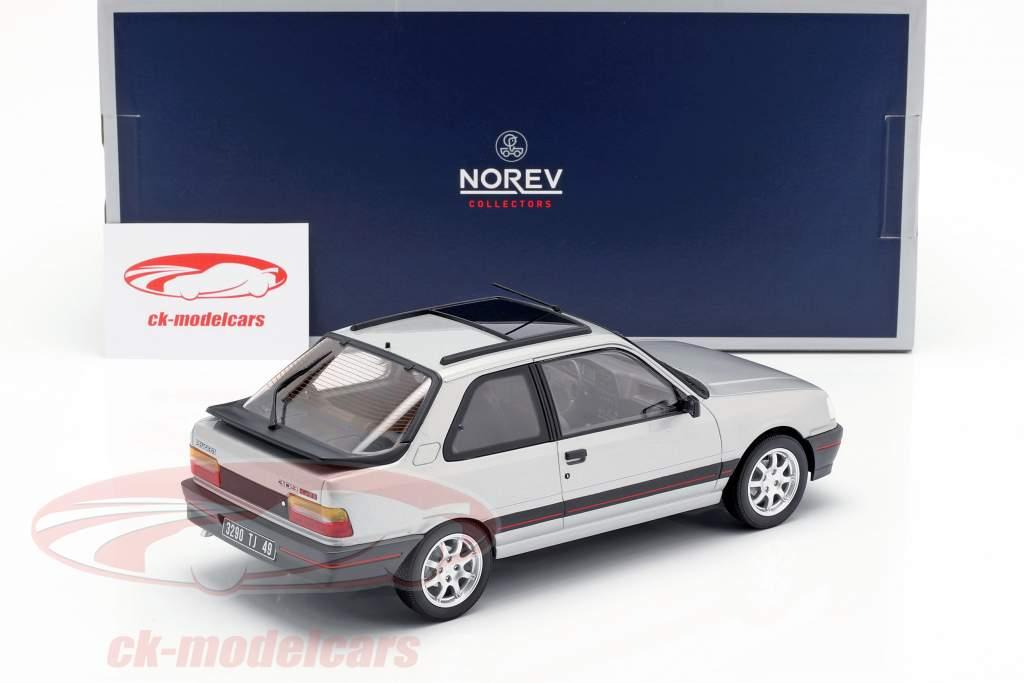 Peugeot 309 GTi year 1987 futura grey metallic 1:18 Norev