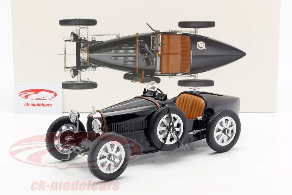 Bugatti T35 year 1925 black 1:12 Norev