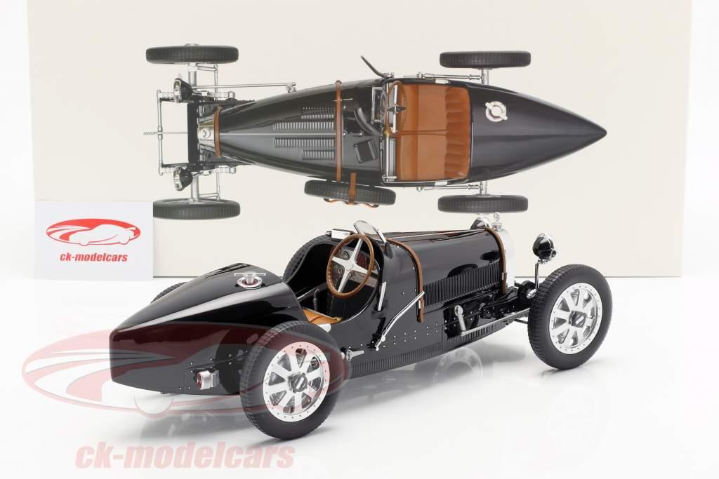 Bugatti T35 Opførselsår 1925 sort 1:12 Norev