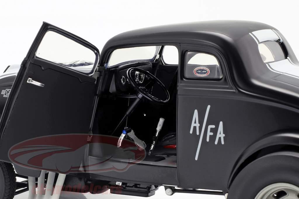 Willys Gasser Dirty Thirty Opførselsår 1933 satin sort / hvid 1:18 GMP