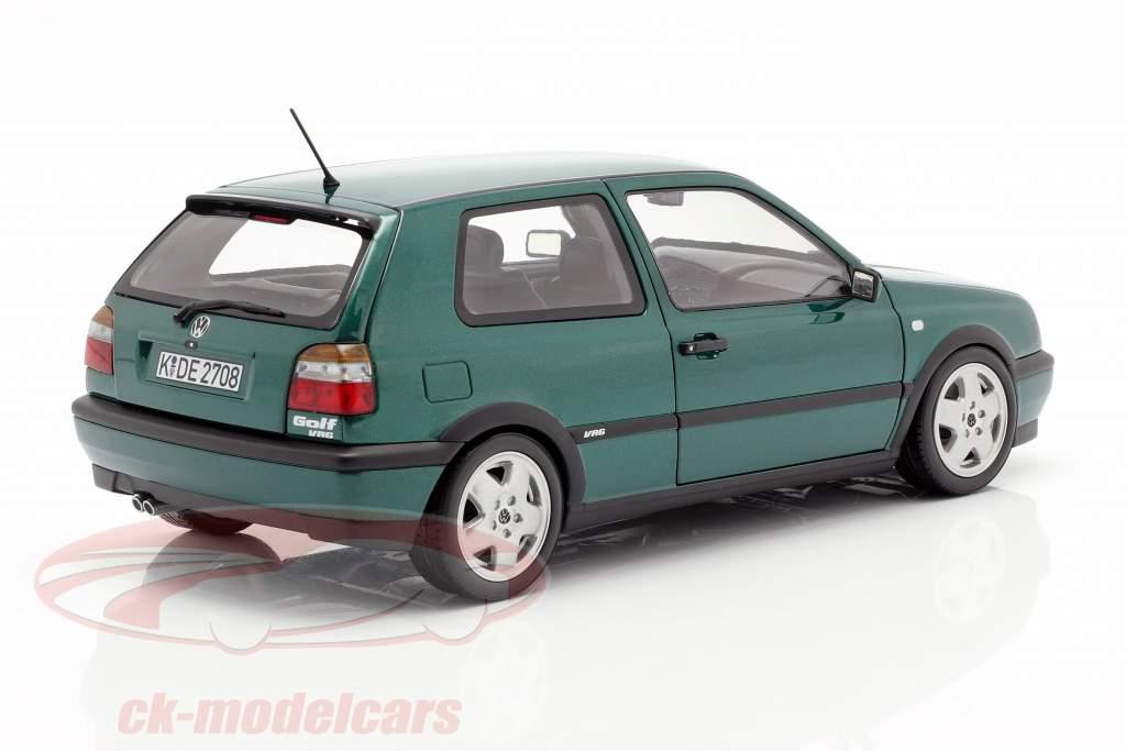 Volkswagen VW Golf III VR6 ano de construção 1996 verde metálico 1:18 Norev