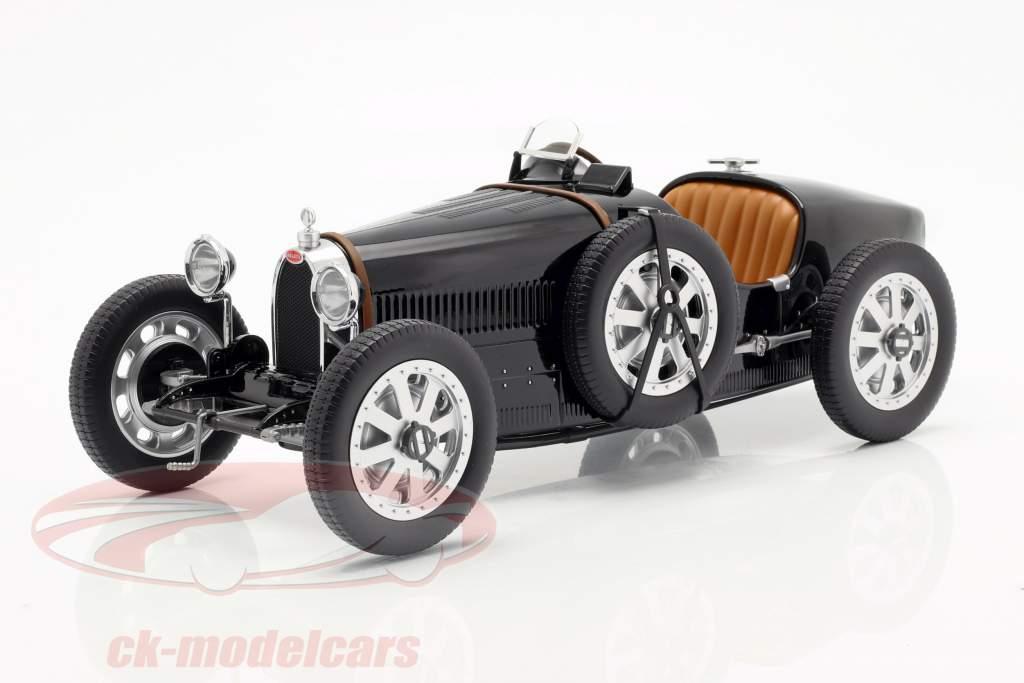 Bugatti T35 año de construcción 1925 negro 1:12 Norev