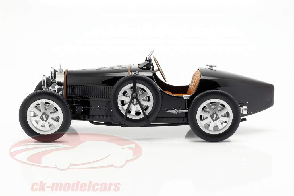 Bugatti T35 année de construction 1925 noir 1:12 Norev