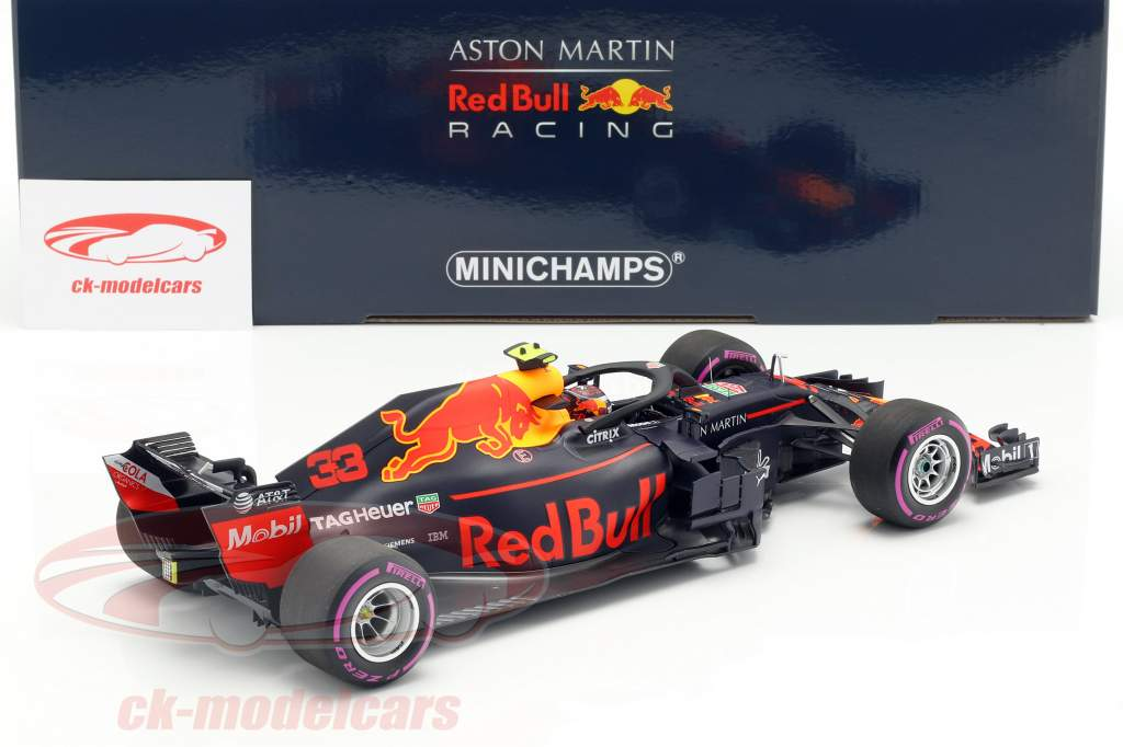 Max Verstappen Red Bull Racing RB14 #33 Sieger Mexiko GP F1 2018 1:18 Minichamps