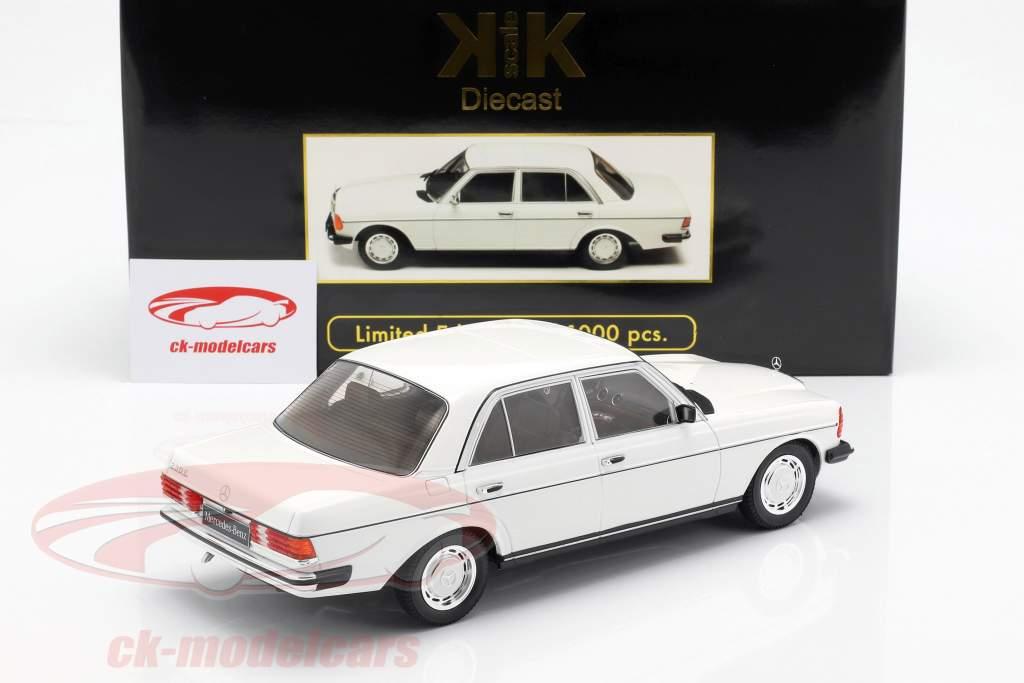 Mercedes-Benz 230E (W123) year 1975 white 1:18 KK-Scale