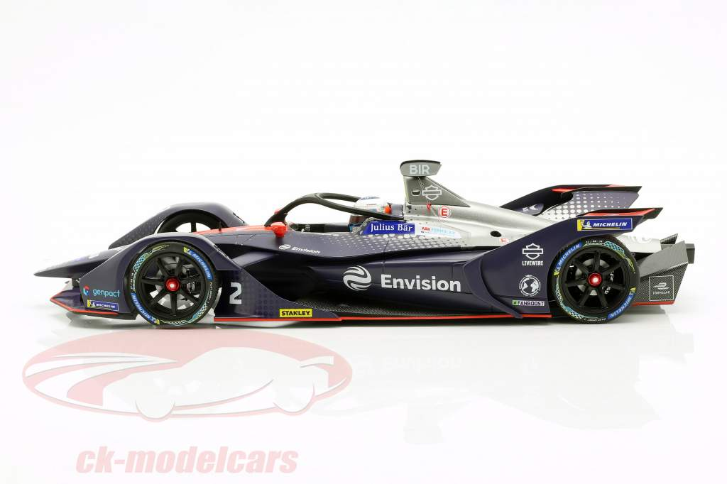 Sam Bird Audi e-tron FE05 #2 Formel E Saison 2018/19 1:18 Minichamps