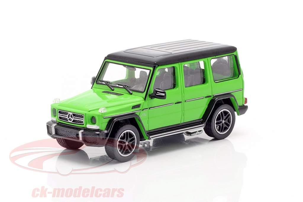 Mercedes-Benz AMG G65 año de construcción 2015 verde metálico 1:87 Minichamps
