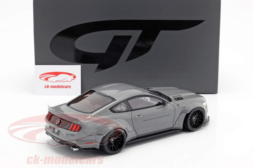 Ford Mustang by LB Works grey 1:18 GT-Spirit